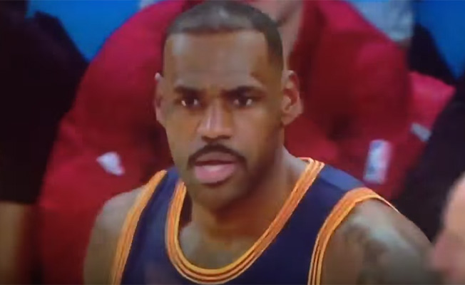 LeBron Sends Message to Teammates: 'You Motherf*ckers Want to Play?'