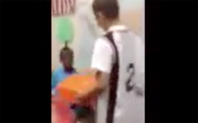 Video: Bullied Student Receives LeBron James Sneakers
