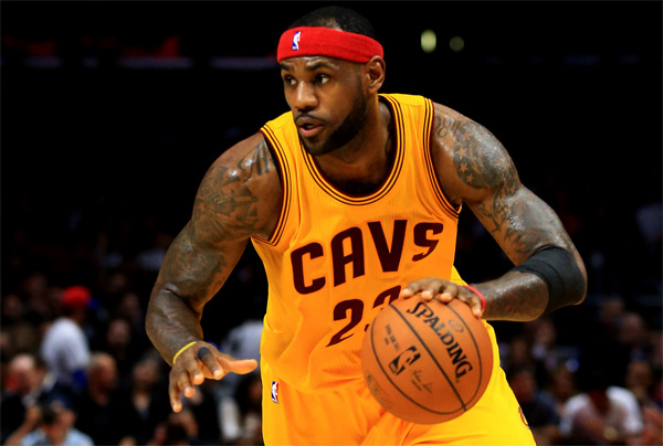 LeBron James father time