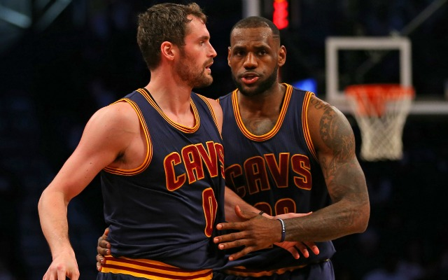 5d178f30e343 Report  LeBron James Frustrated by Kevin Love Showing Up Out of ...