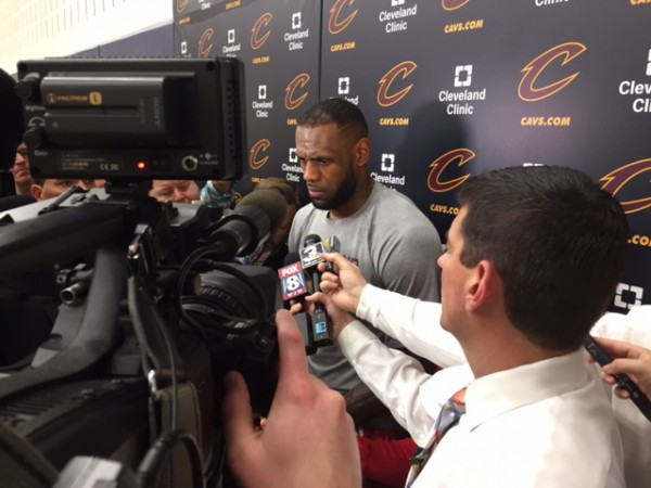 LeBron James media