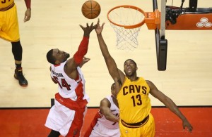 Tristan Thompson Rebounding