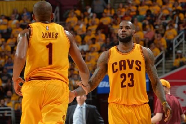 LeBron James and James Jones