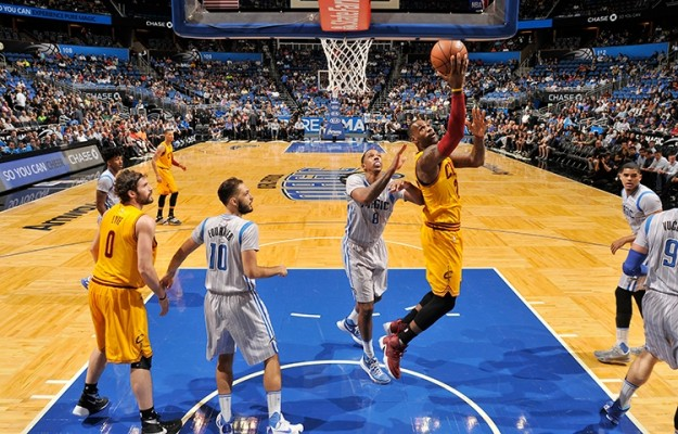 fcb11574a4a1 Cleveland Cavaliers vs. Orlando Magic Game Recap  Cavs Coast to Blow Out  Victory
