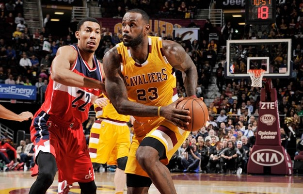 LeBron James vs. Washington Wizards on December 1, 2015