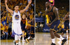 Stephen Curry vs. LeBron James