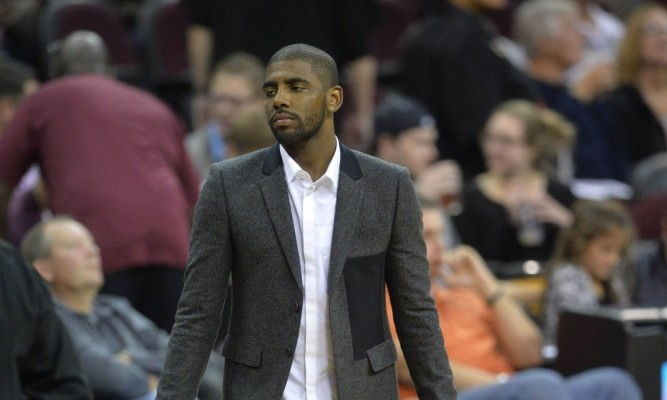Kyrie Irving Street Clothes