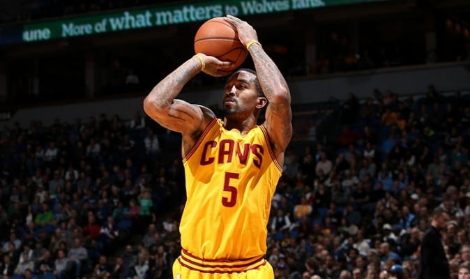 J.R. Smith Cleveland Cavaliers