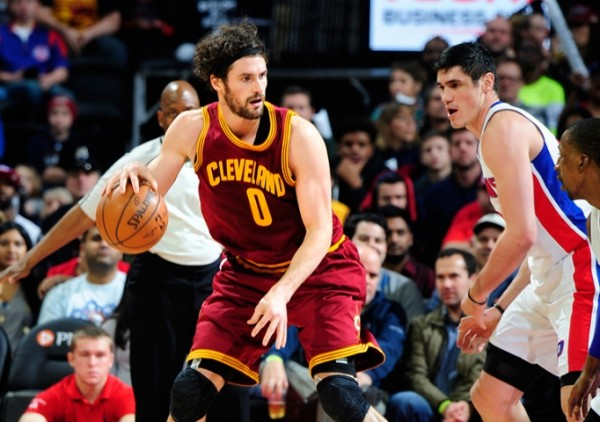 Kevin Love vs. Detroit Pistons