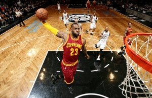 LeBron James vs. Brooklyn Nets--January 20, 2016