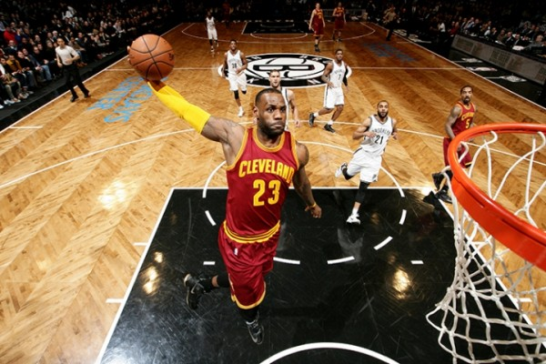 LeBron James vs. Brooklyn Nets--January 20, 2016