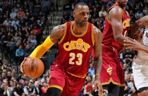LeBron James vs. San Antonio Spurs on January 14, 2016