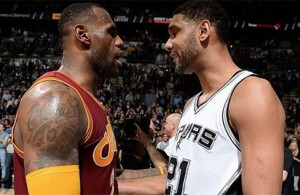 LeBron Calls Tim Duncan Greatest Power Forward of All-Time