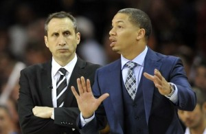 Tyronn Lue and Blatt