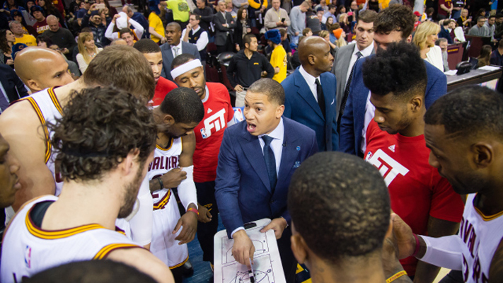 Cavs Players Defend Lue's Selection as Coach at All-Star Game