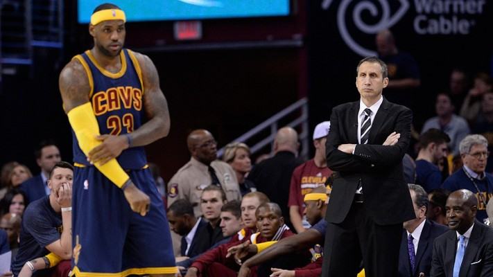 LeBron James and David Blatt