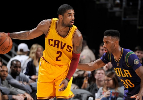 Kyrie Irving vs. New Orleans Pelicans on February 6, 2016