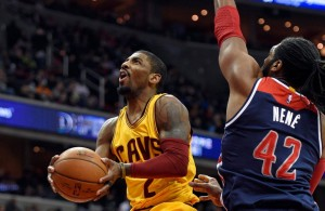 Kyrie Irving vs. Washington Wizards--February 28, 2016