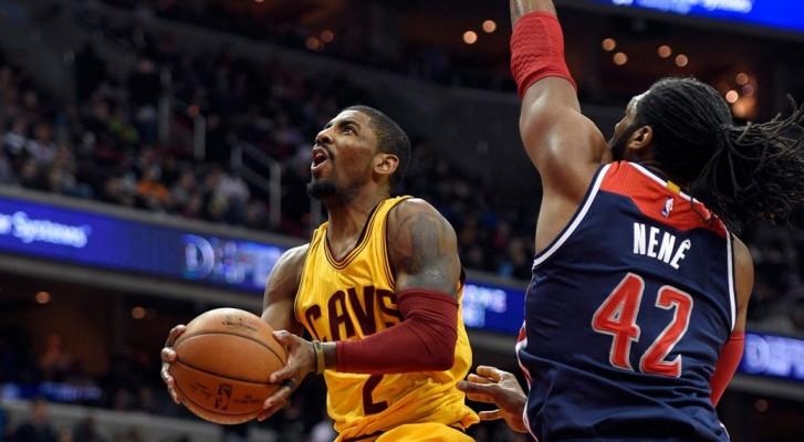 Kyrie Irving vs. Washington Wizards--February 28, 2016