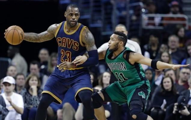 LeBron James vs. Boston Celtics on February 5, 2016