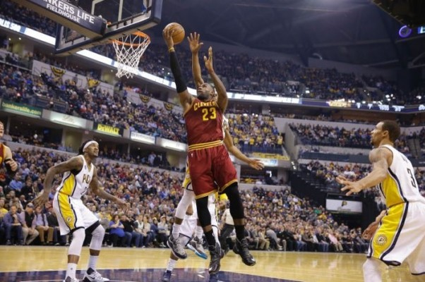 LeBron James vs. Indiana Pacers on February 1, 2016