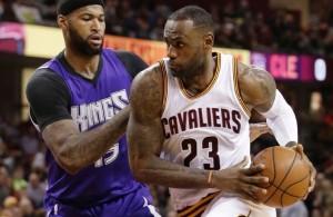 LeBron James vs. Sacramento Kings on February 8, 2016