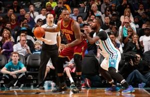 LeBron James vs. Charlotte Hornets on February 3, 2016