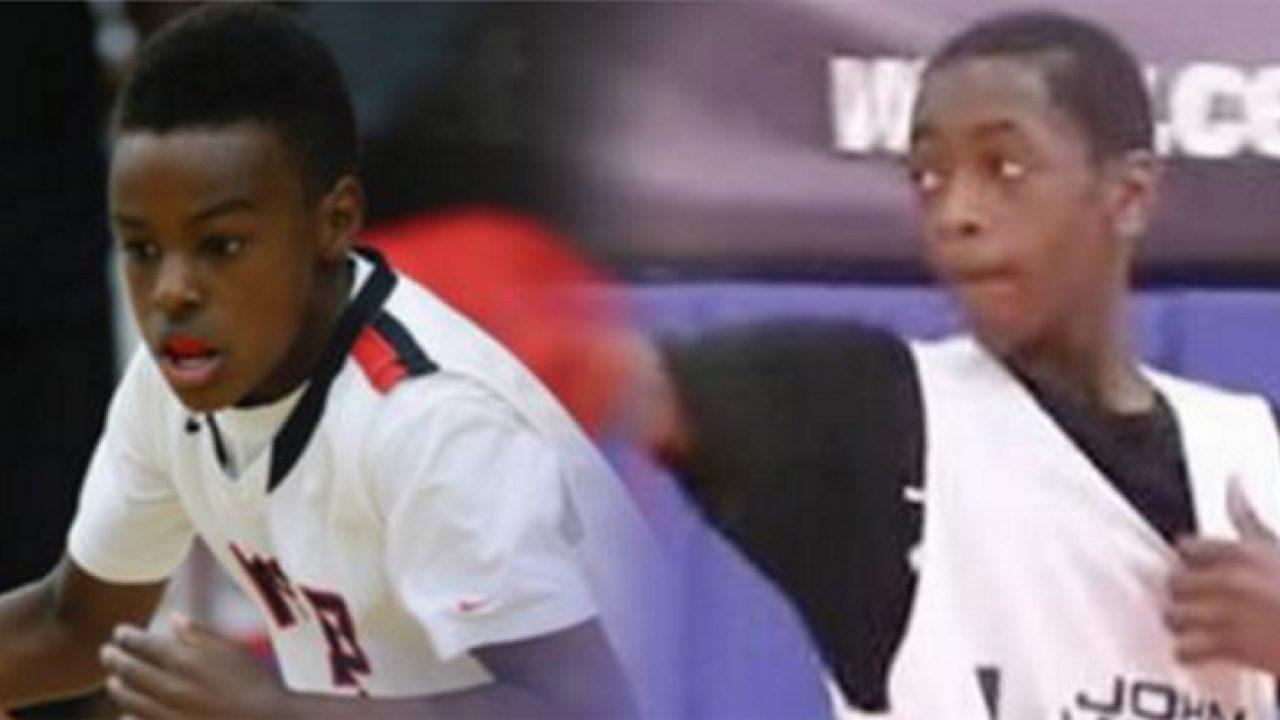 Video: LeBron James Jr  vs  Zaire Wade (Dwyane Wade's Son