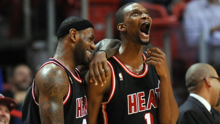 LeBron James Chris Bosh