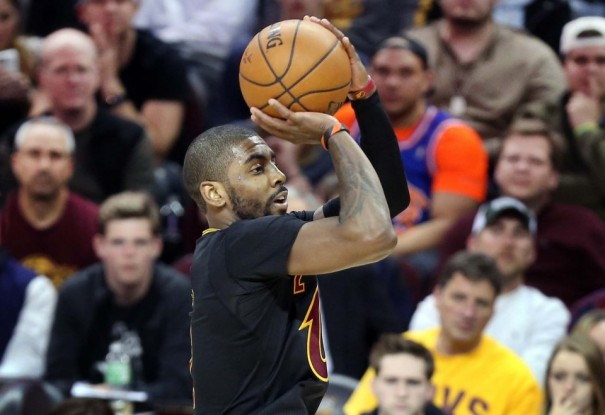 Kyrie Irving vs. Houston Rockets on March 29, 2016
