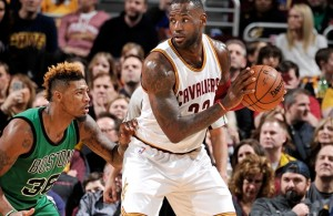 LeBron James vs. Boston Celtics on March 5, 2016