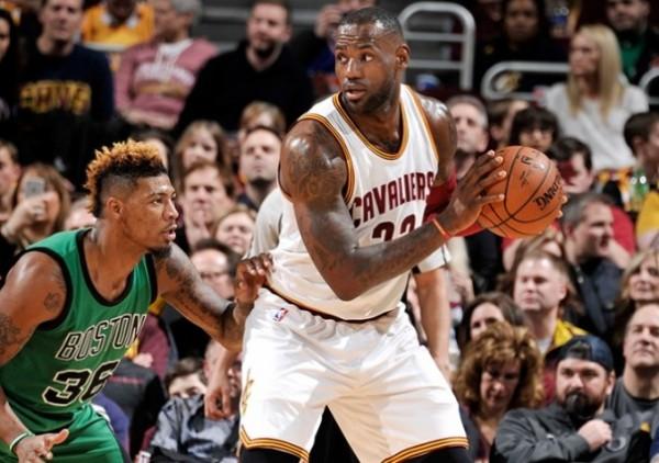 LeBron James vs. Boston Celtics on March 5, 2016
