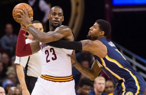 LeBron James vs. Indiana Pacers--February 29, 2016