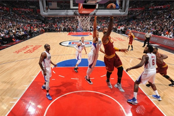 LeBron James vs. Los Angeles Clippers on March 13, 2016