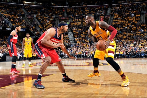 LeBron James vs. Washington Wizards on March 4, 2016
