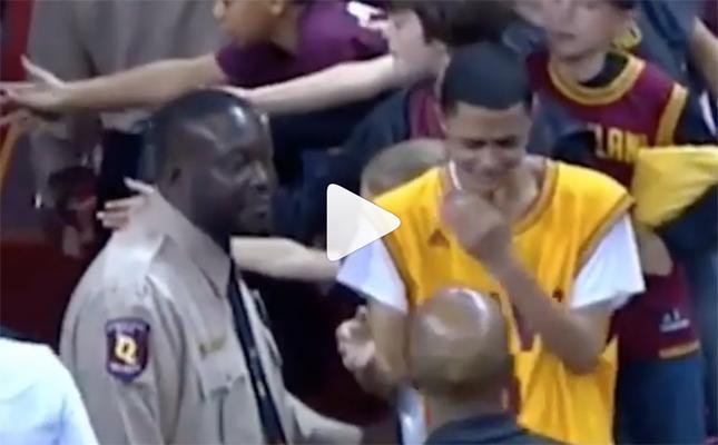 Cavs fan in tears, Cleveland Cavaliers