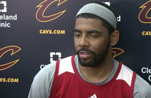 Kyrie Irving practice
