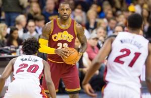 LeBron James vs. Miami Heat