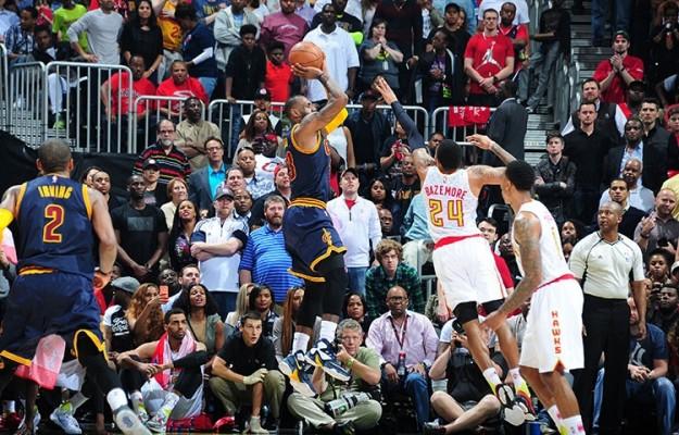 LeBron James vs. Atlanta Hawks