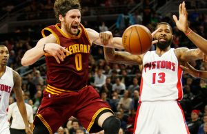 Kevin Love vs. Detroit