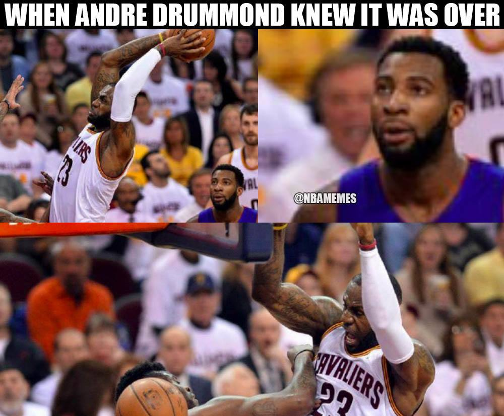 LeBron vs. Drummond