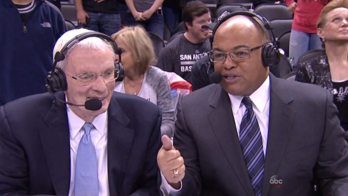 Hubie Brown and Mike Tirico