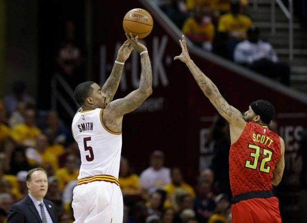 J.R. Smith vs. Atlanta Hawks
