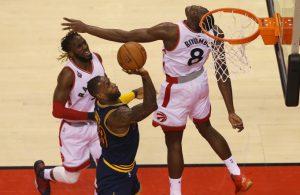 LeBron James vs. Toronto Raptors on May 23, 2016