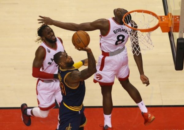 LeBron James vs. Toronto Raptors on May 23, 2016