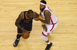 LeBron James vs. Toronto Raptors on May 21, 2016
