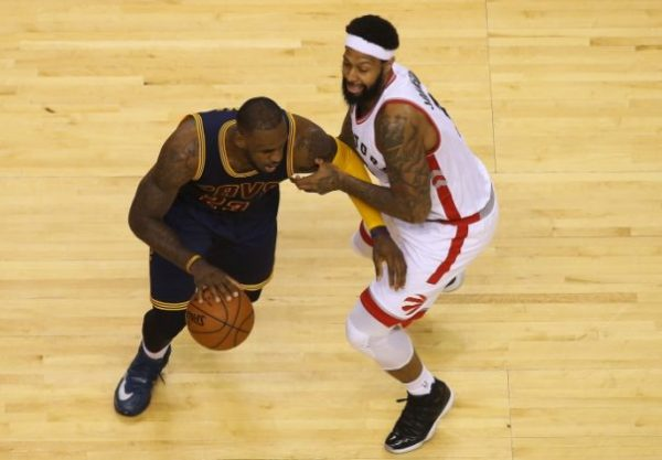 LeBron James vs. Toronto Raptors on May 21, 2016