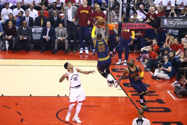 LeBron James vs. Toronto Raptors on May 27, 2016