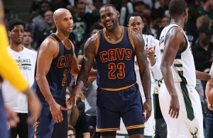 Richard Jefferson and LeBron James
