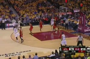 j.r. smith 3-pointer